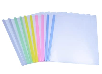 amazon com qibote file folder report covers with plastic clear