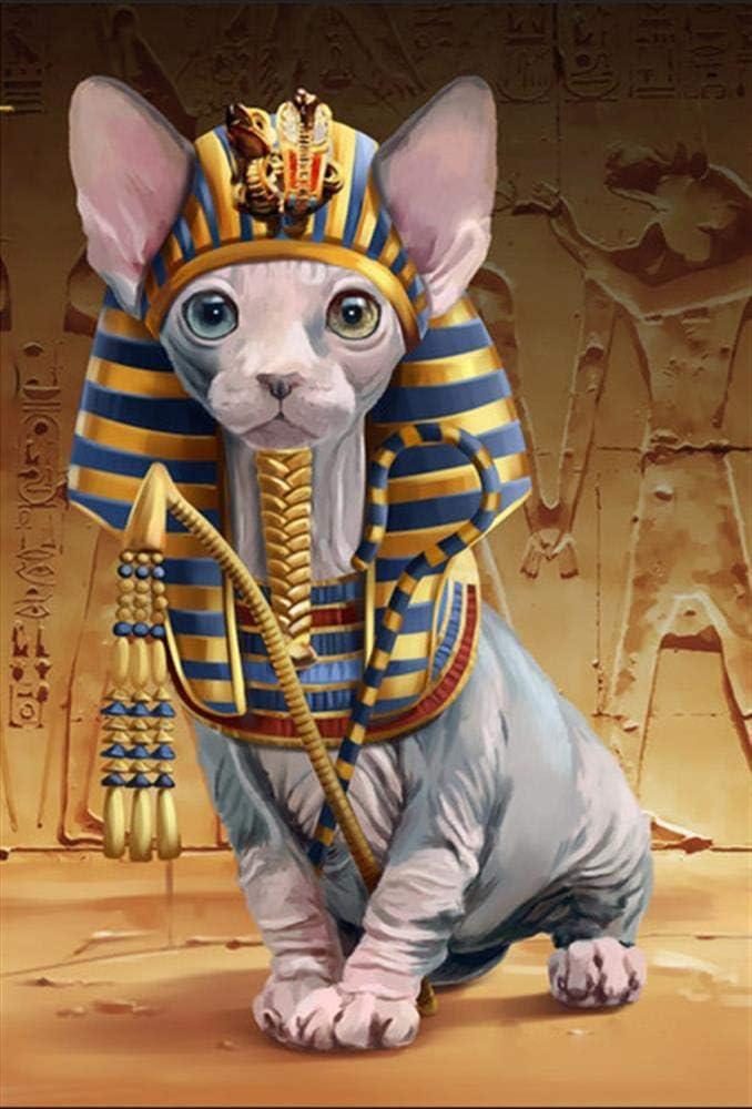 YDPTYANG Niños Puzzle 1000 Piezas Faraón Egipcio Gato Adultos De Madera Puzzle Juego Clásico Puzzle Ocio Arte Toys Puzzles