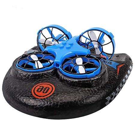 Mini Drone, Agua, Tierra Y Aire Aerodeslizador De Cuatro Ejes ...