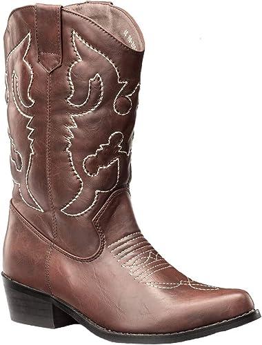 SheSole Ladies Wide Calf Cowgirl Cowboy