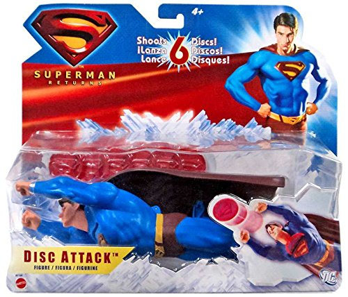 Flying Attack Superman Figure - Superman Disc Attack