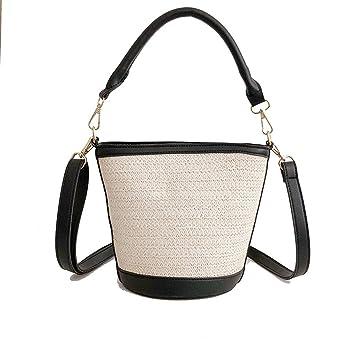 c92f0bf957a07 GWQGZ Neue Gestrickt Handtasche Schaufel Mix Beach Resort Single Schulter  Skew Spanning Tasche