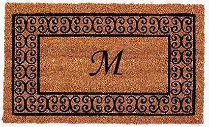 Delicieux Monogram Charleston Doormat   M   24u0026quot; ...