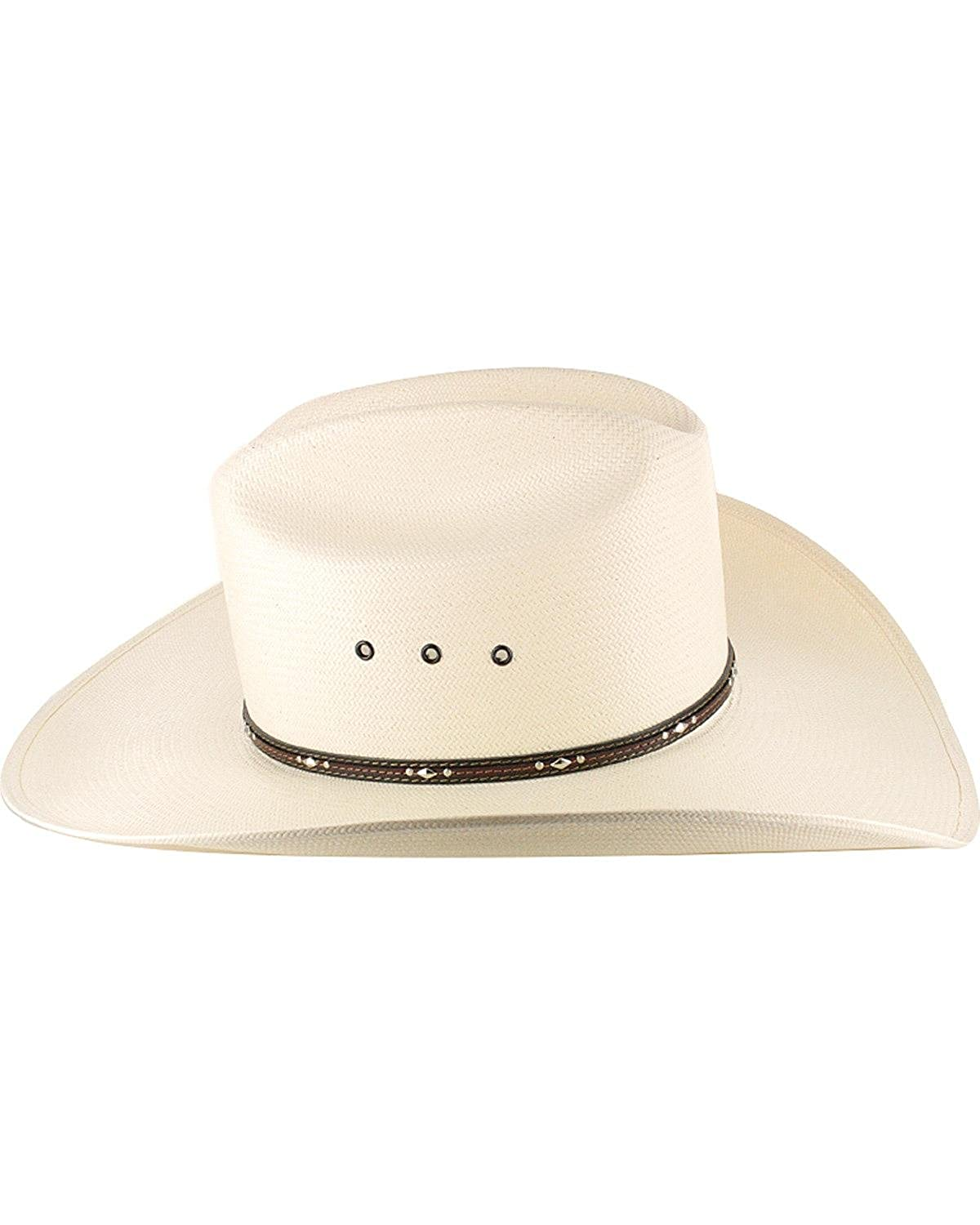 d1d0b2a4ca0 Resistol Men s George Strait Kingman 10X Straw Cowboy Hat - Rskngk-304281  at Amazon Men s Clothing store
