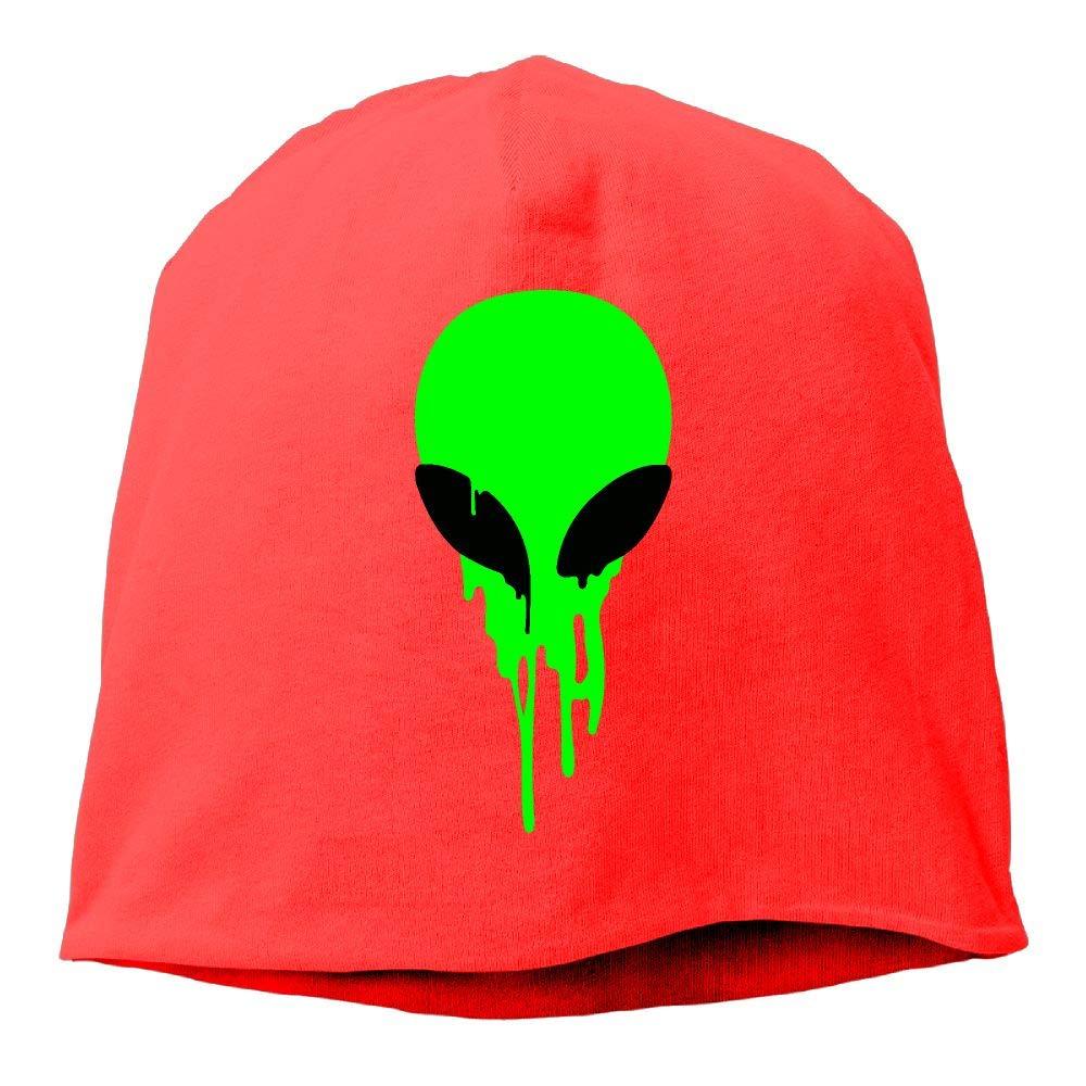 SHA45TM Melting Alien Men /& Women Winter Helmet Liner Fleece Skull Cap Beanie Hat for Snowboarding Black