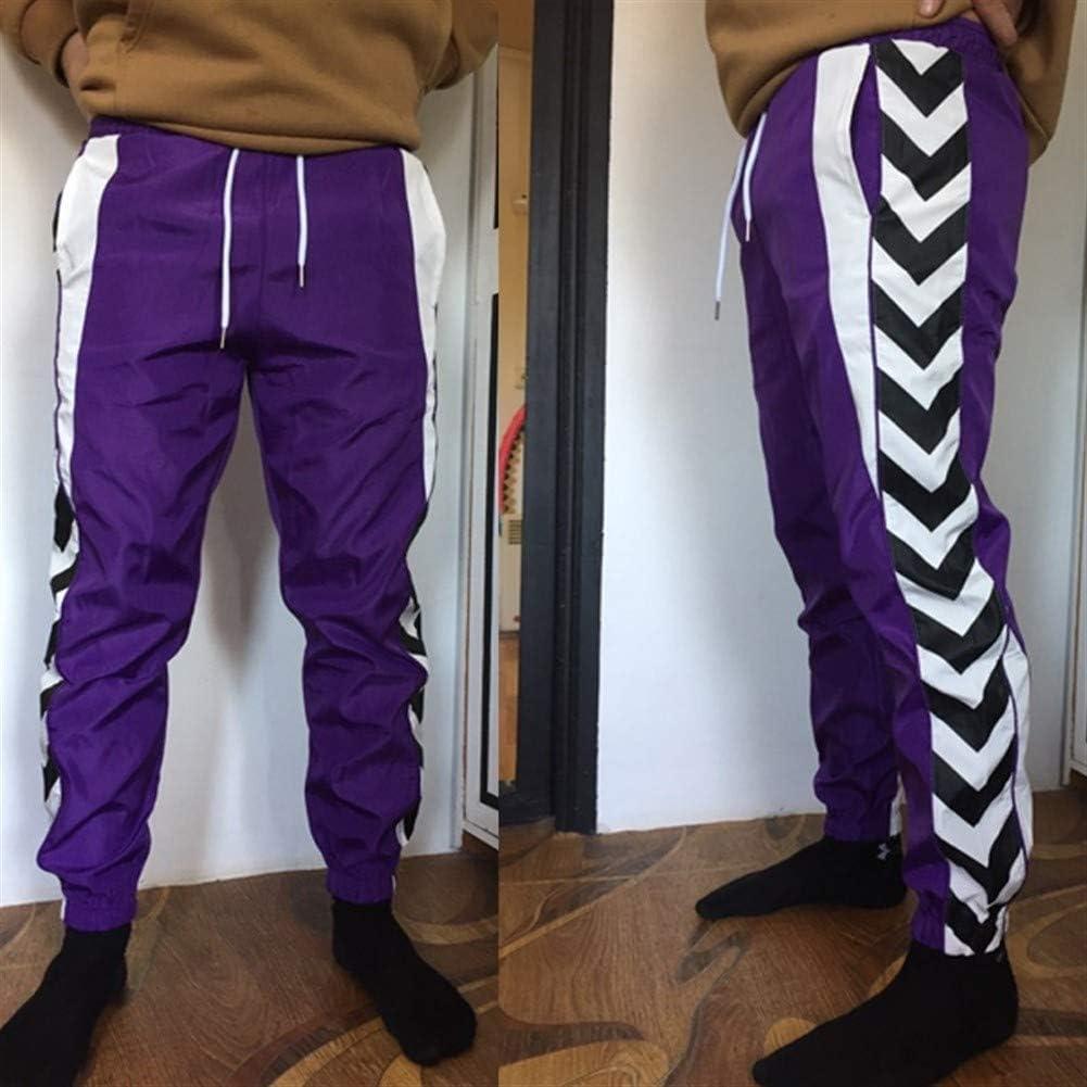 CXJ-Pants Pantalones de chándal de los Hombres del tamaño Extra ...
