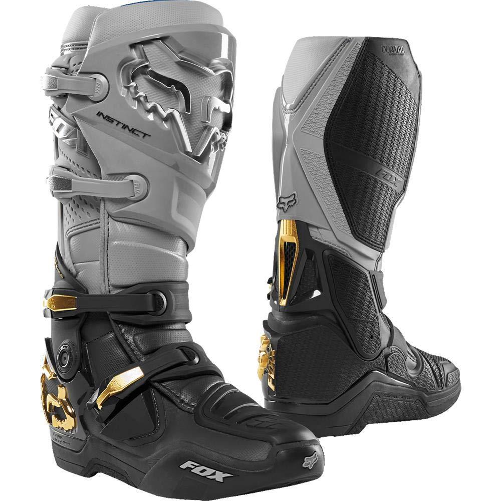 Fox Racing Instinct Boots Black//White 10