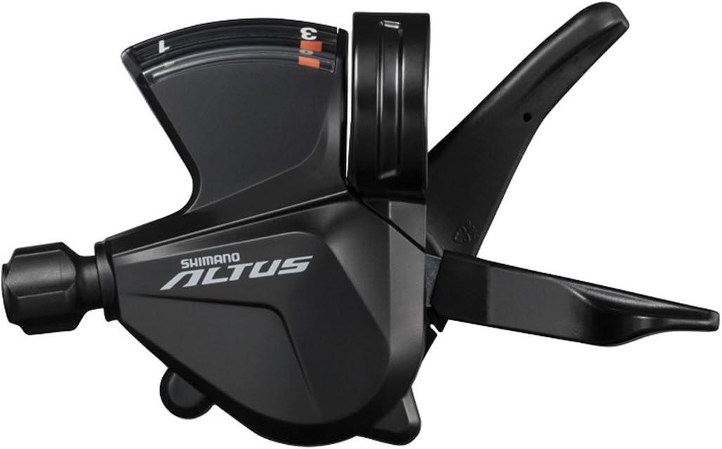 Shimano Altus SL-M2000 Altus Shift Lever Left Hand Black 3-Speed Band-on