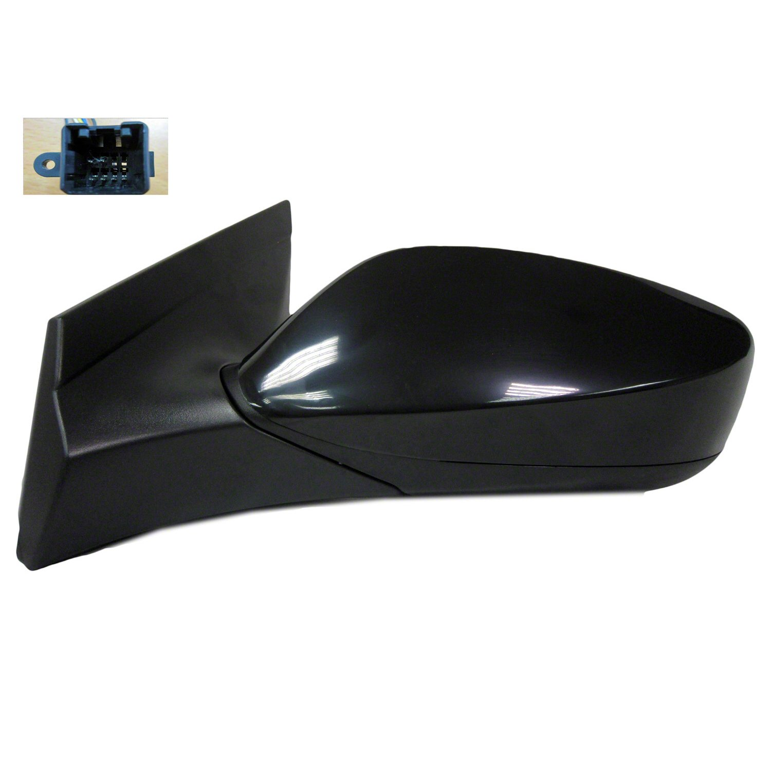GetAllParts New Driver Side Left Non-Heated Non-Signal Power Door Mirror Assembly