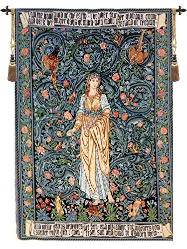 Flora I European Wallhanging by Charlotte Home Furnishings Inc.