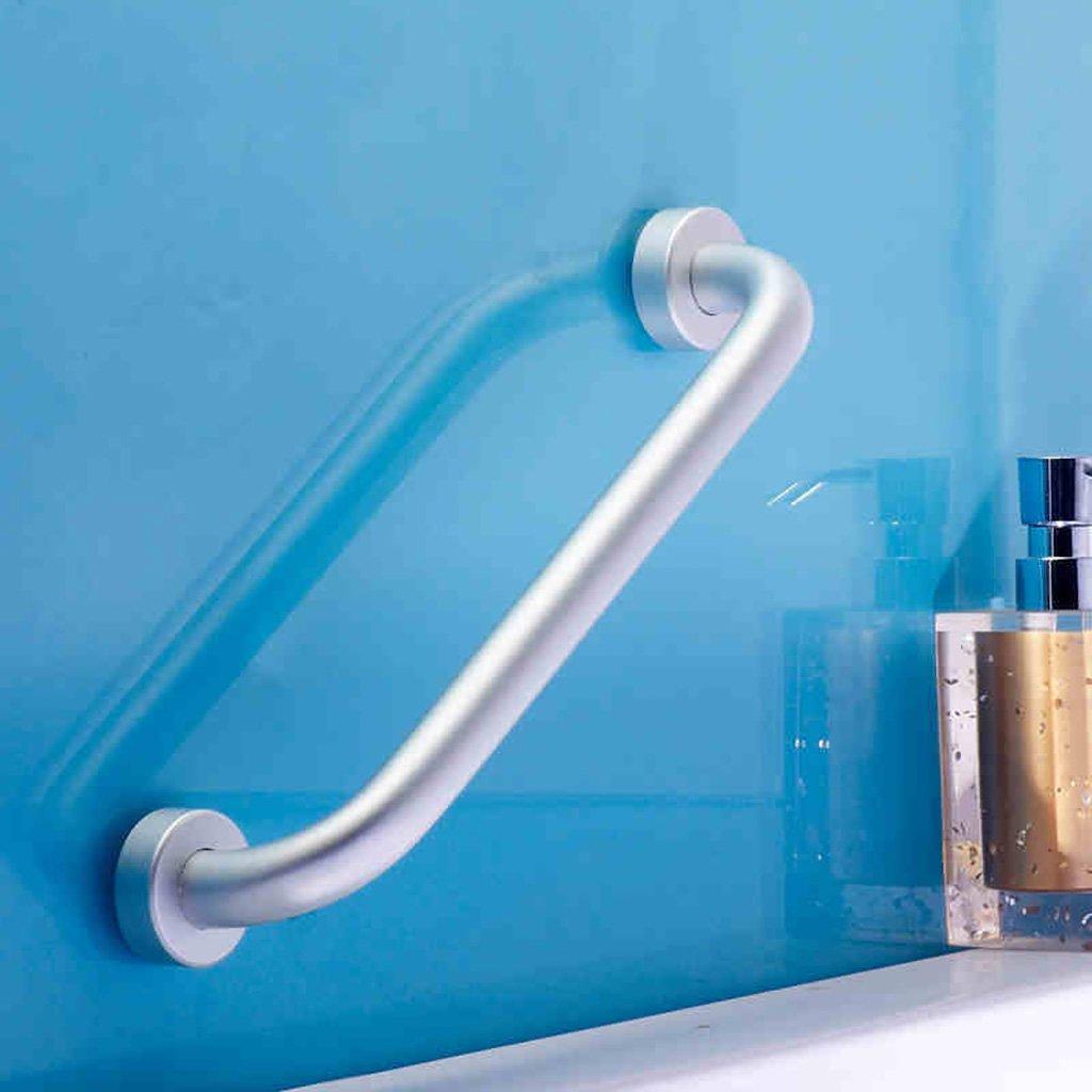 Mjb Bracciolo in Alluminio per Bagno Braccioli Antiscivolo per Bagno Maniglie per Bagno Maniglie per Bagno Braccioli per Vasca (Colore   40CM)