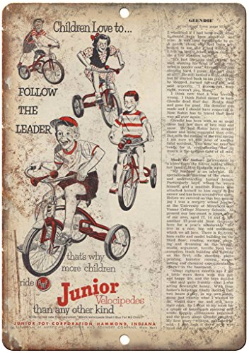 AMF Junior Velocipedes Tricycle Bike Ad 10