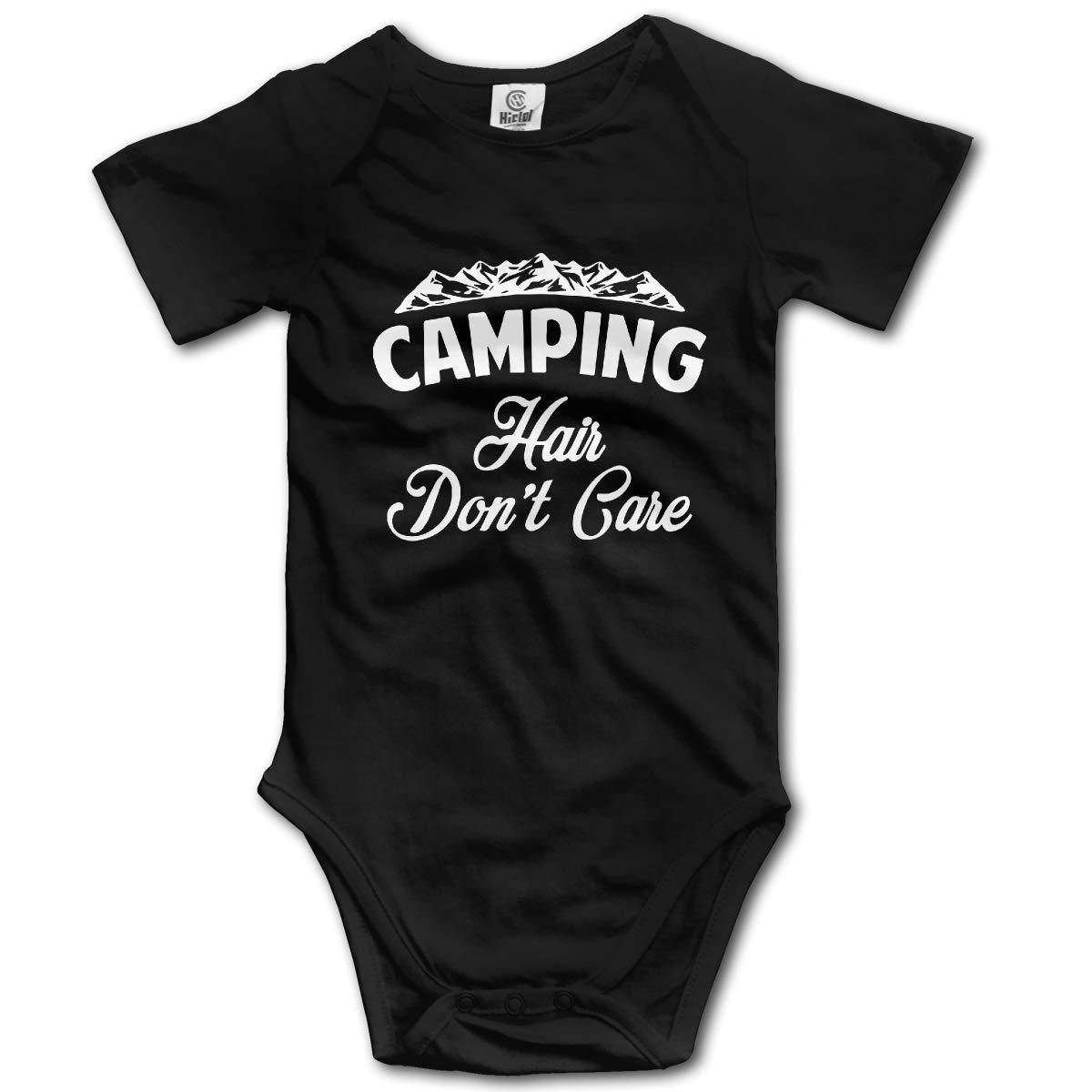 Camp Hair Dont Care3 Newborn Infant Baby 100/% Organic Cotton Romper Jumpsuit 0-24 Months