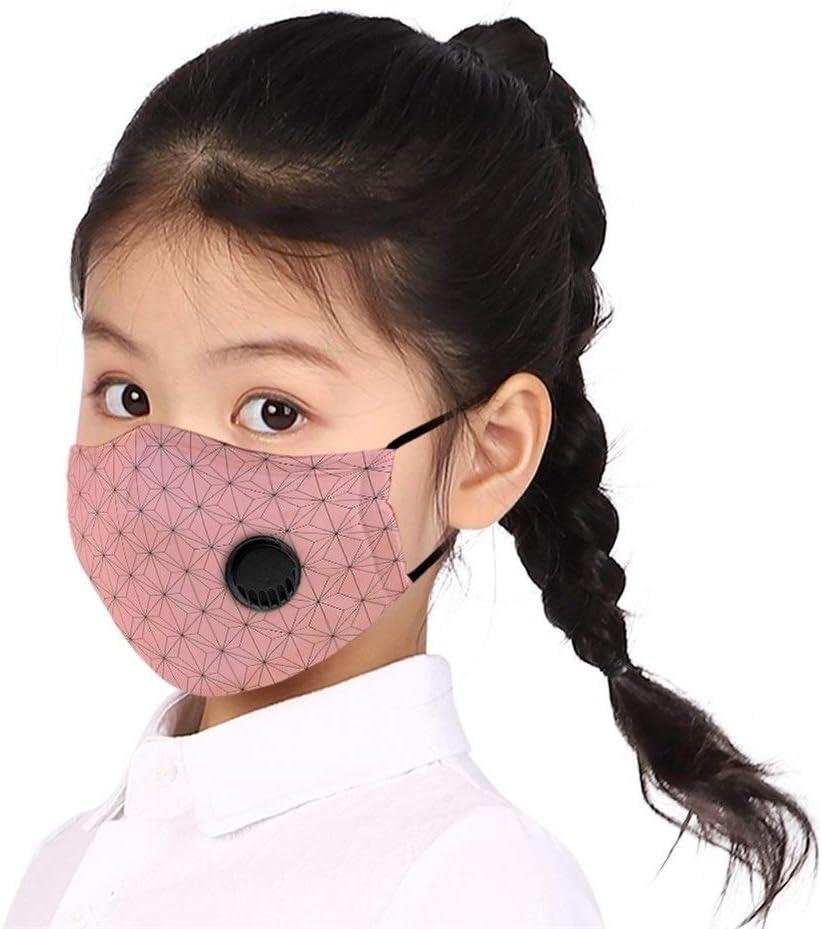 NOBRAND Máscara De Dibujos Animados For Niños, 10 Piezas Transpirable del Polvo Moda Máscara De Filtro, con La Respiración De La Válvula De Protección Anti-Humo (Color : 3, Size : 18 * 12cm)