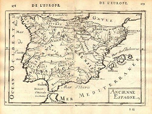 Número de casa Iberia: provincias pueblos Hispania Lusitania, 2 ...