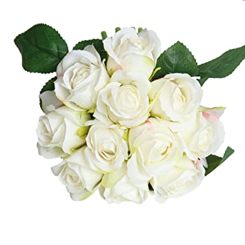 DIY Dekoration Künstliche Blume Blumen Hochzeit Strauß 11 Köpfe Haus Verkauf