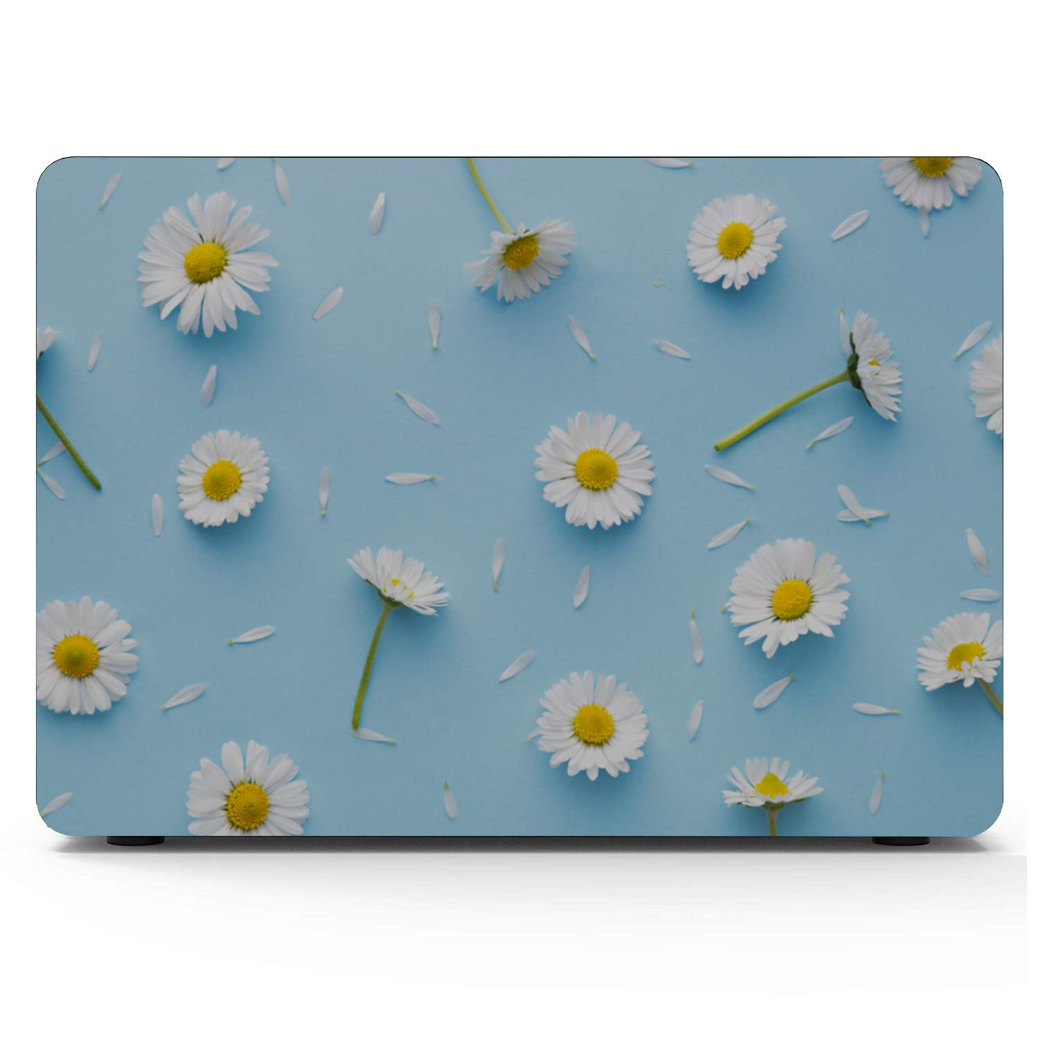 Case MacBook Air 13 Spring Colorful Beautiful Wild Flowers Plastic Hard Shell Compatible Mac Air 11 Pro 13 15 MacBook Pro Shell Case Protection for MacBook 2016-2019 Version