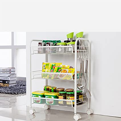 Amazon.com - Hyun times Kitchen Stands Trolley With Metal ...