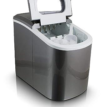 Eiswürfelmaschine Eiswürfelbereiter Ice Maker Maschine Dunkelgrau 2.Wahl