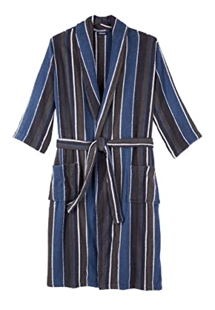 Amazon.com: Kingsize Men's Big & Tall Terry Bathrobe With Pockets ...