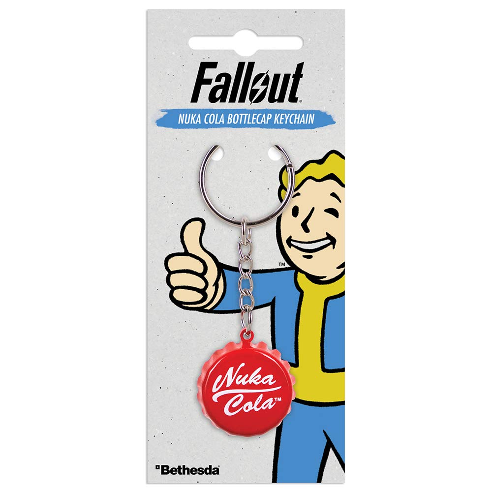 Gaya Entertainment Fallout Metal Keychain Nuka Cola ...