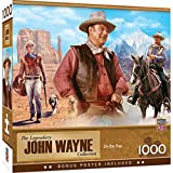 MasterPieces John Wayne 1000 Puzzles Collection - On the Trail 1000 Piece Jigsaw Puzzle