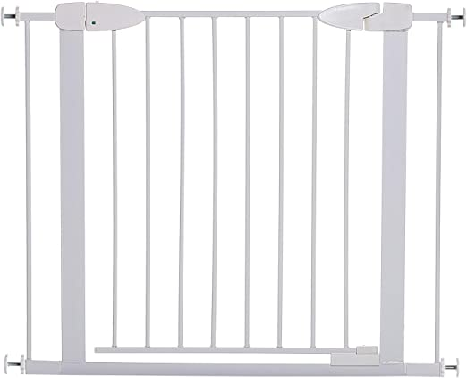 Extensions Set Noir DreamBaby Extra Tall couloir Swing fermé Baby Stair Gate