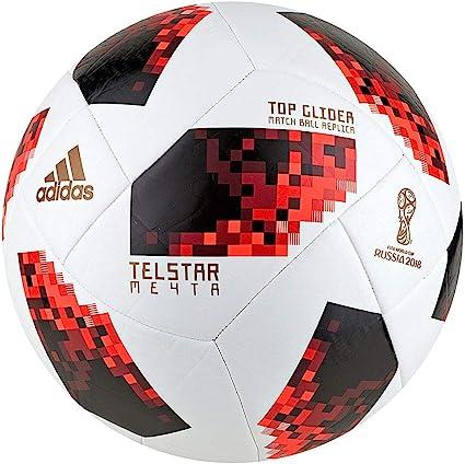 Perder la paciencia reloj predicción  Amazon.com: Adidas - Balón de fútbol de la FIFA Mundial de la FIFA 2018,  unisex, color blanco y rojo, 5: Sports & Outdoors
