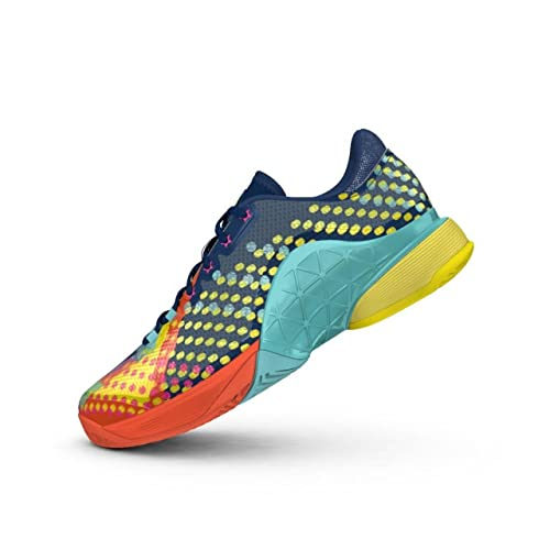 adidas Barricade 2017 Pop Art, Azul Oscuro, 42 2/3-UK 8,5: Amazon.es: Deportes y aire libre