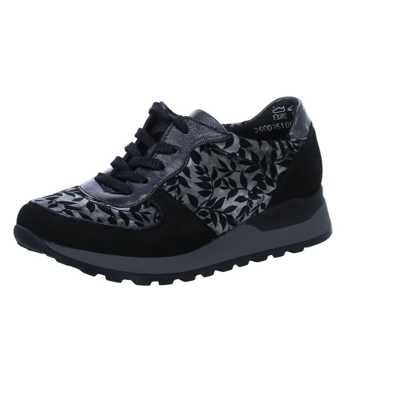 Waldläufer Chaussures de Gris Ville Lacets B077Z46D4R à Lacets pour Femme Gris 8fbec8d - shopssong.space