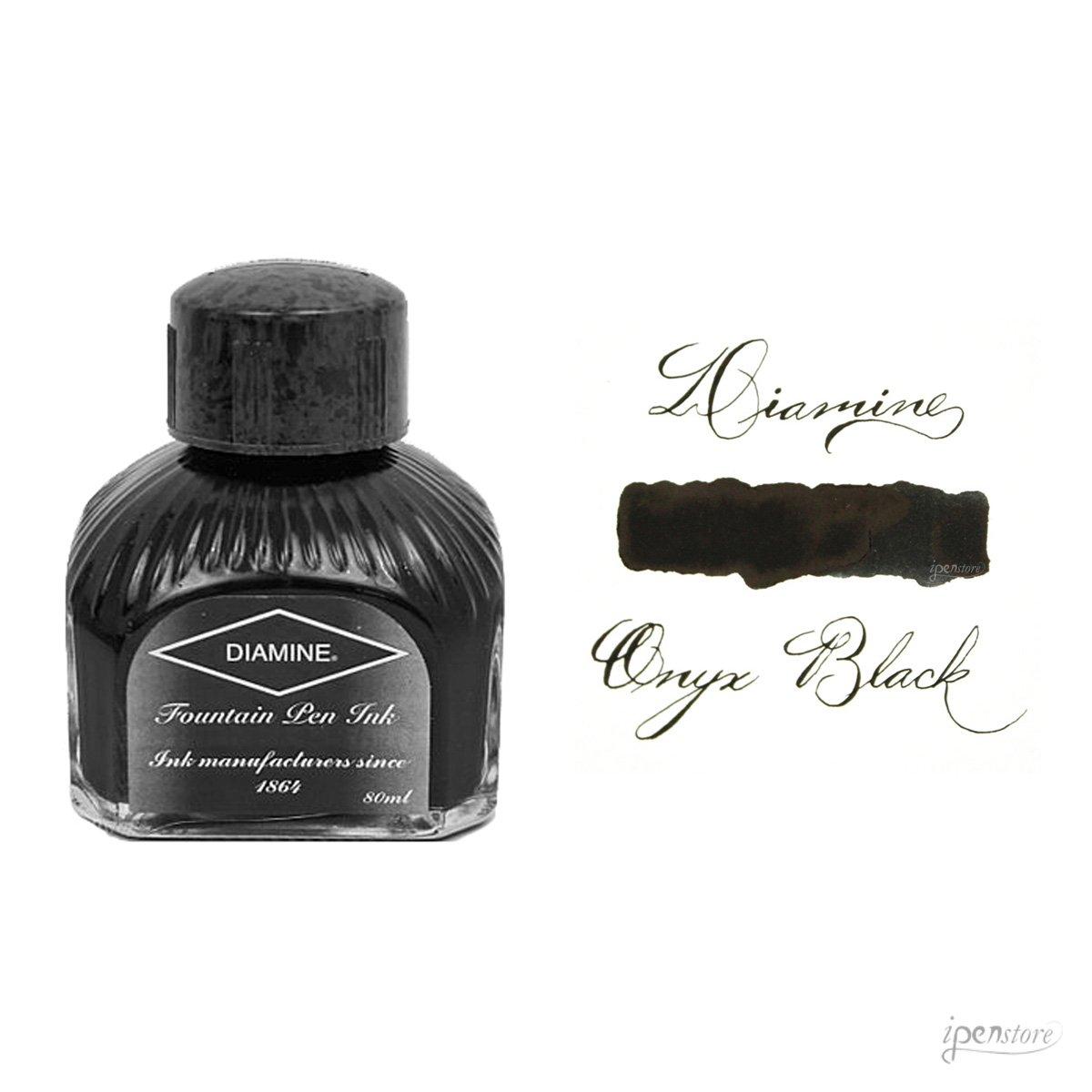 Diamine Fountain Pen Ink - 80 ml - Onyx Black by Diamine (Image #1)