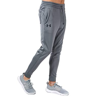 f20d75fad3819a Under Armour Mens Ua Storm Icon Tracksuit Fleece Joggers in Grey ...
