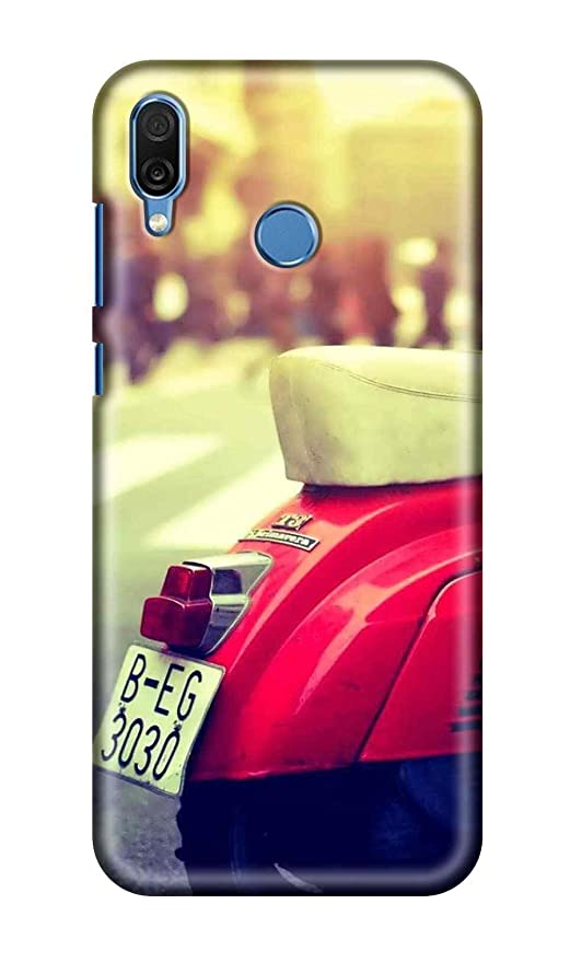 SWAG my CASE Printed Back Cover for Huawei Honor 8X-406