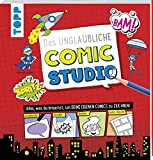 Das unglaubliche Comic Studio: Alles, was du brauchst, um deine eigenen Comics zu zeichnen! Mit Schablonen, Stickern, Heldenfiguren und Comic-Rastern