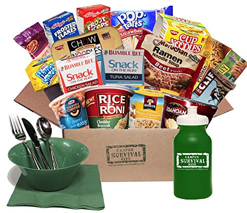 Meals on the Run Campus Survival Kit by Campus Survival Kits