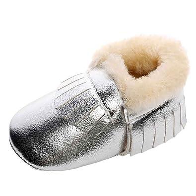 7fb15e6fcc5dd ❤️Amlaiworld bébé Chaussons Gland Chaussures Chaudes Bottes de Neige à  Semelle Souple pour Filles Garçon