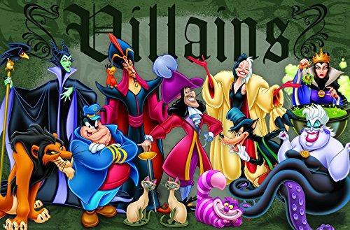 Trends International Disney Villains Wall Poster 22.375 x 34