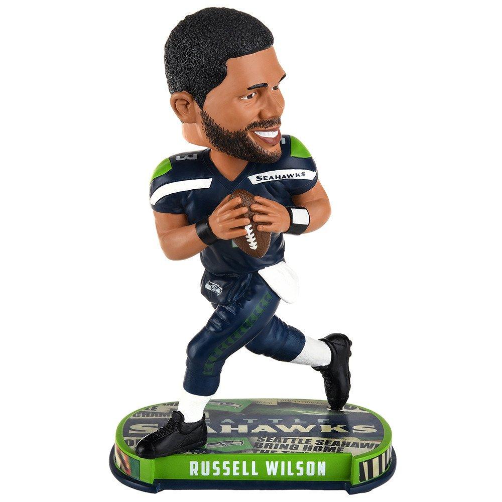 Russell WilsonシアトルシーホークスHeadline Special Edition Bobblehead   B073VCV9Q3