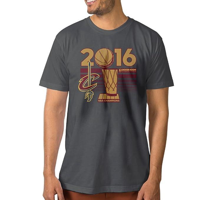 Fashion algodón Hombre Cleveland Cavaliers 2016 Final Champions Camisetas: Amazon.es: Ropa y accesorios