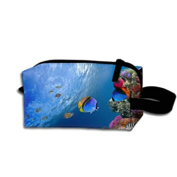 af773ce1ef58 Amazon.com   Colorful Sea Fish Waterproof Nylon Organizer for Travel  Accessories   Beauty