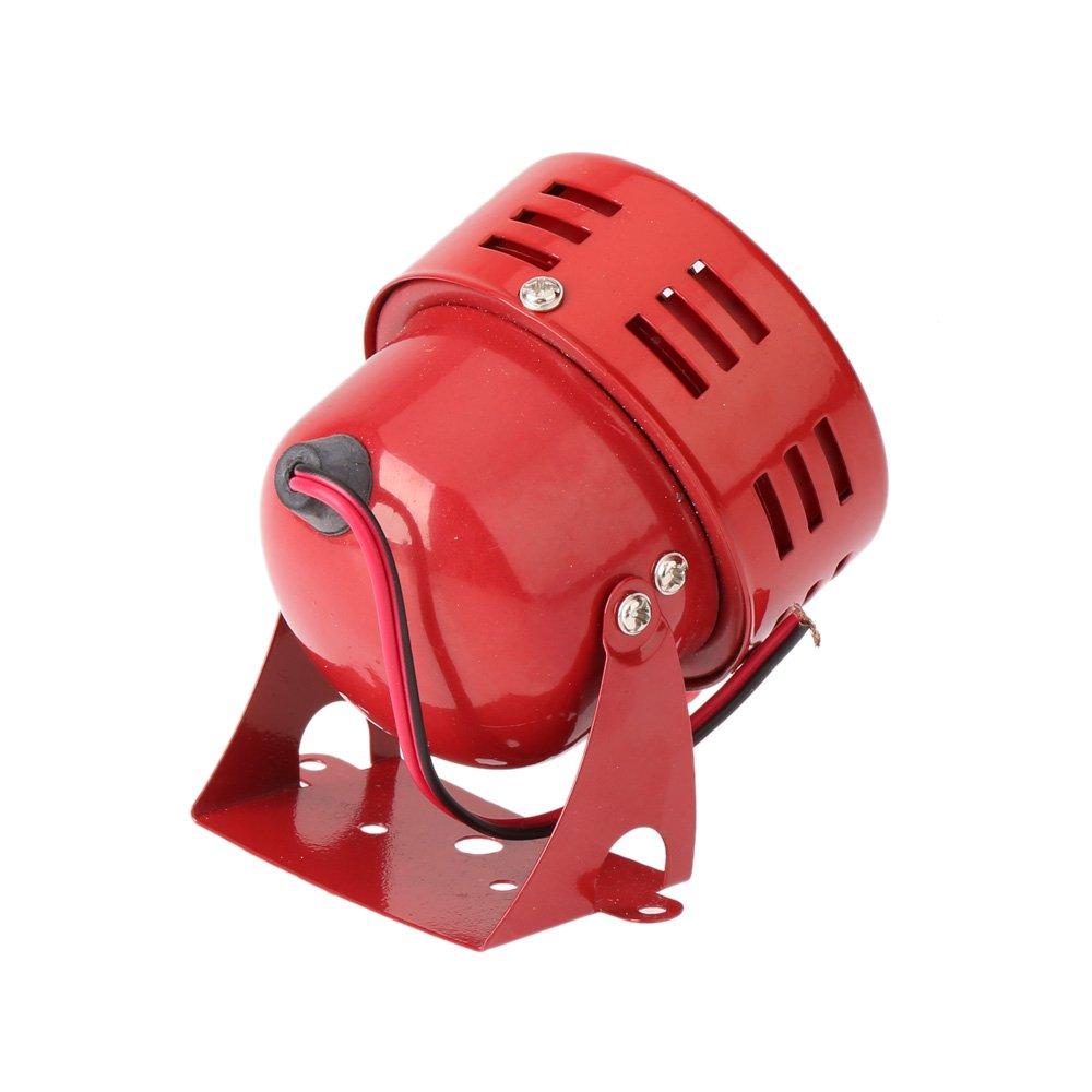 7,6/cm mit Motorantrieb Rot Fliegeralarm 12/V KKmoon Autosirene