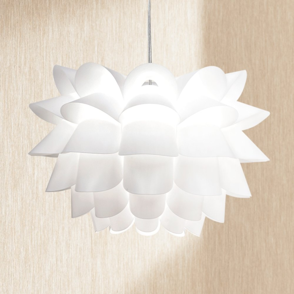 Possini euro white flower 19 12 wide pendant chandelier possini euro white flower 19 12 wide pendant chandelier amazon arubaitofo Images