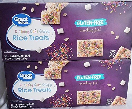 ree Birthday Cake Rice Crispy Treats Bundle of 2 ()