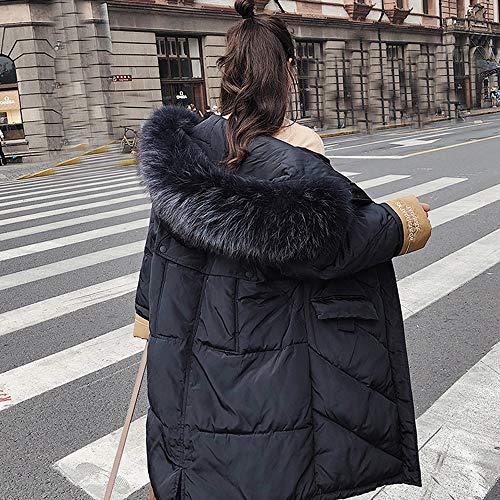 Mujer Caliente Invierno Abrigos Pelo Abrigos Caliente Chaqueta Ultra emulational Pelo Mujer Chaqueta Manga Largos Mujer Abrigos Parka Abajo Largo de Abrigos Invierno mujer Larga Invierno POLP aw7nqU8Fq