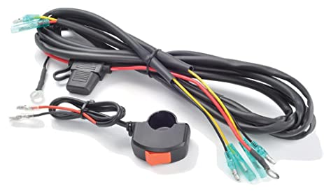 61PUbw95h4L._SX463_ amazon com trail tech 040 wh7b universal wiring harness with on wire harness with handlebar mounted switch amazon