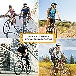 Qomolo-Sella-per-Mountain-Bike-Cuscino-Sella-per-Bicicletta-MTB-Comoda-e-Traspirante-Adatta-per-BMX-Mountain-Bike-Road-Bike-MTB-Dirt-Bike