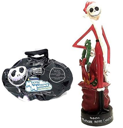 Amazon.com: Figura de Papá Noel de Papá Noel con Jack ...