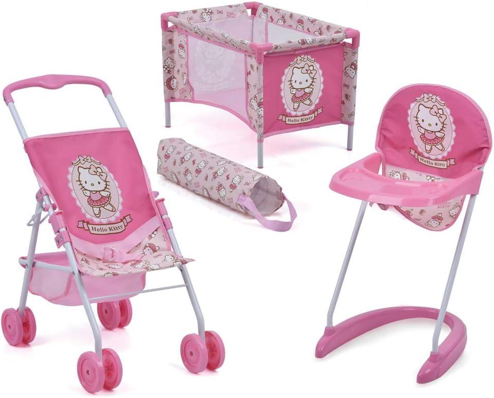 Hello Kitty 3Piece Doll Playset