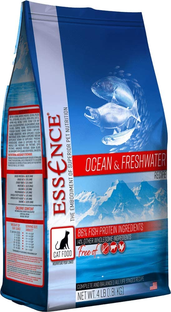 Essence Ocean & Freshwater Grain-Free Dry Cat Food 10lb