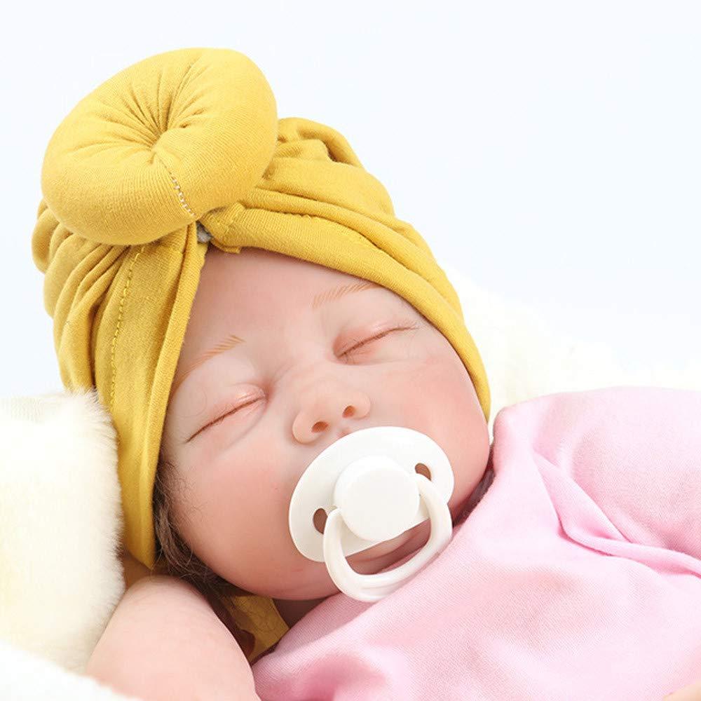 Sombrero para ni/ños Cuadrado Turbante para beb/é Sombrero para ni/ños y ni/ñas de la India